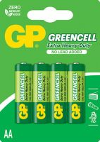 imgБатарейка GP GreenCell AA 15G - (4шт)