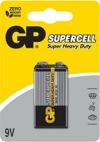 imgБатарейка GP SuperCell 9V 1604S - (1шт)
